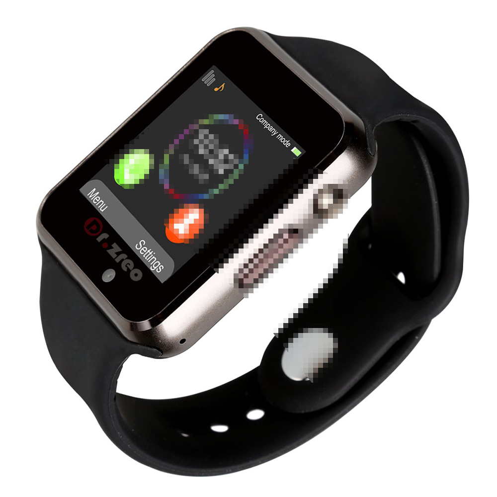 A1 Smart Watch For <strong>Apple</strong> iOS Android Smartphone Wristband SIM TF Card Phone MP3 Smartwatch