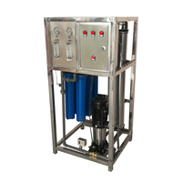 Small 500L per hour Water Treatment Plant, RO Filter Water Purified System