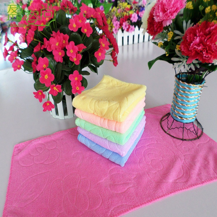 factory supplier cheap microfiber towel customized available fabric for dish/car cleaning towels hot sale china product