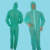 disposable coverall nonwoven PP coverall nonwoven overall green colors