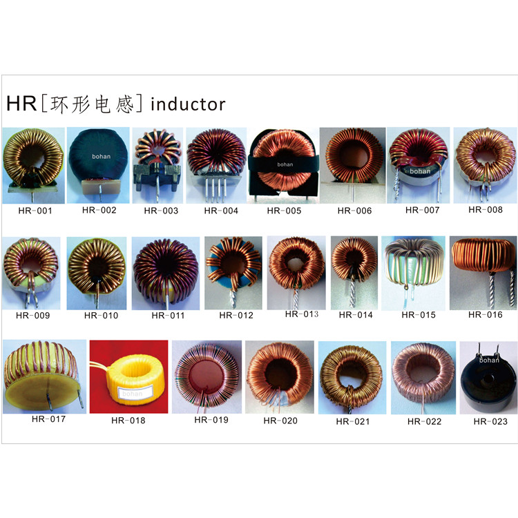 Enameled Copper Flat Wire Coil Inductor / Air Core Coils / Flat Copper Wire