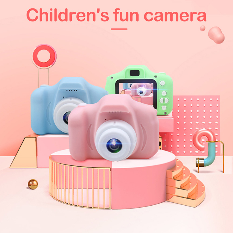 Competitive 2.0 Inch IPS Screen Shockproof Child Digital Selfie HD Camera Camcorder 12MP Mini Kids Camera 720P
