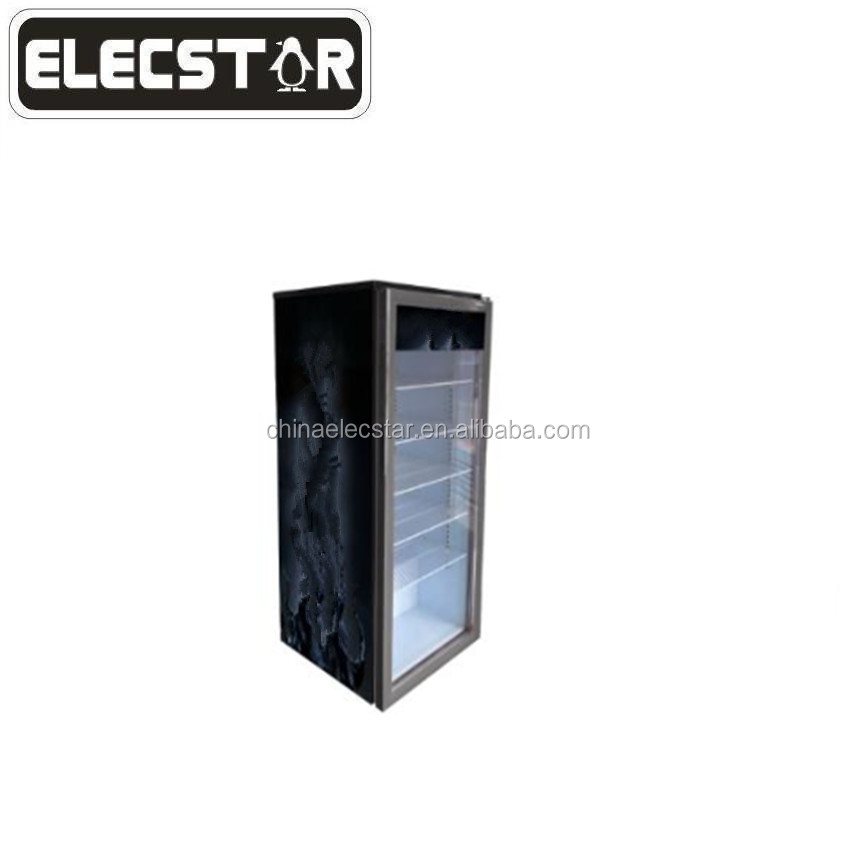 retro  refrigerator/ home fridge with solid door/household products
