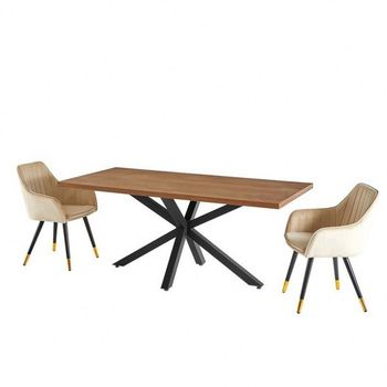Hot Selling Dining Table Set For 4 Restaurant Wood Table Modern For Wholesales
