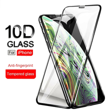 For <strong>Iphone</strong> 11Pro MAX <strong>10D</strong> full coverage tempered glass screen protector