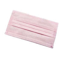 New product oem pink class ii medical face mask surgical face mask 3 ply medical
