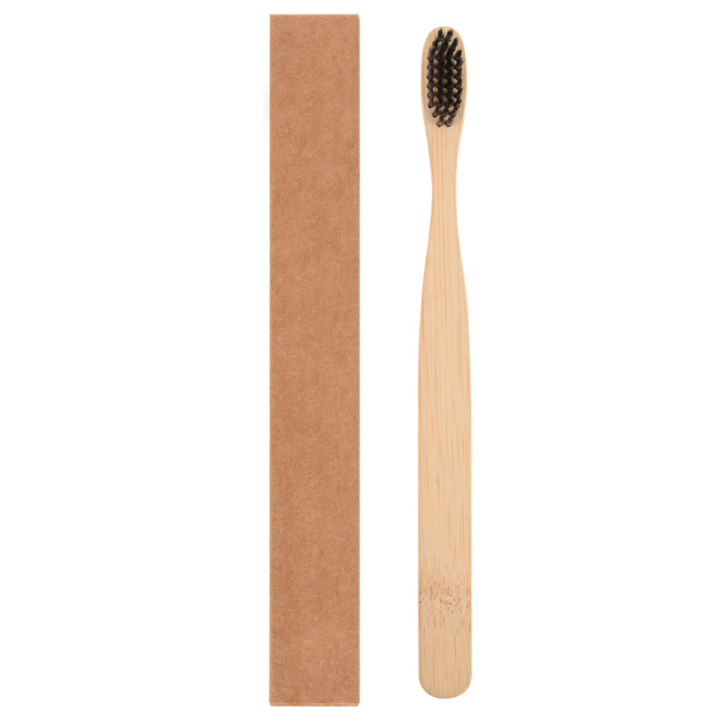 Biodegradable Natural Organic Hotel Travel <strong>Bamboo</strong> Toothbrush