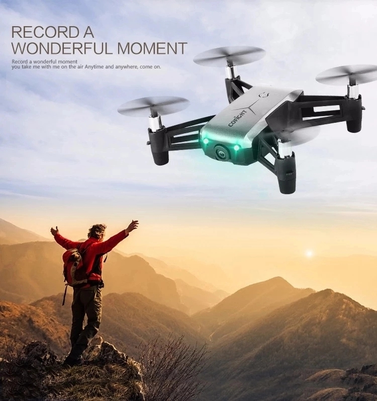 2019 SJY-1802 2.4Ghz 4Ch New Wifi Drone With 720P FPV Wide Angle And Altitude Hold
