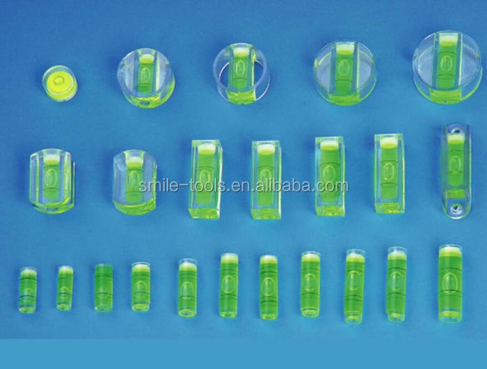 Acrylic PMMA Vial rectangular Acrylic Block Vial Spirit Bubbles Made in China