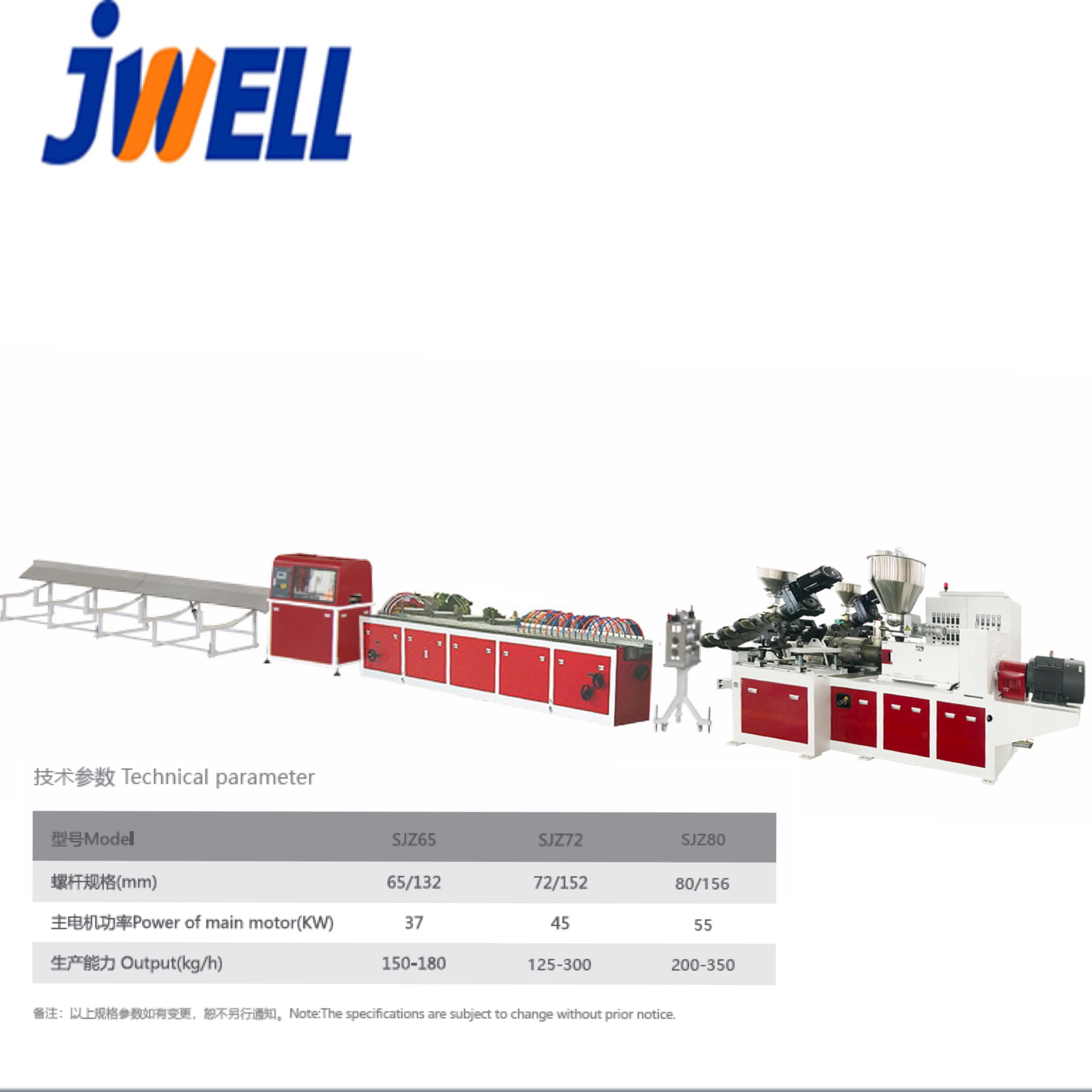 PVC&amp;<strong>PE</strong>&amp;PP Wood plastic Profile Extrusion Line/WPC Floor Machine/Machine WPC