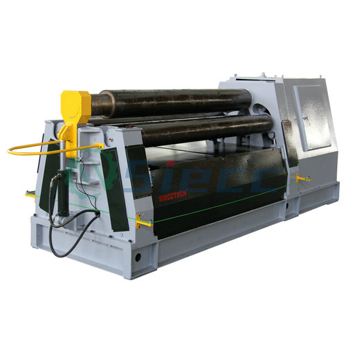 <strong>W11S</strong> 3 roller <strong>rolling</strong> pipe bending <strong>machine</strong>, electronic hand operated sheet steel <strong>rolling</strong> metallizing <strong>machine</strong> second hand