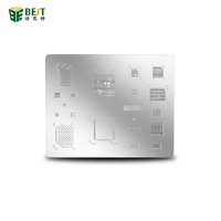 BEST-A11-High Quality Universal BGA IC Chip Stencils Heated Template Reballing Stencil for iphone 8 8P X
