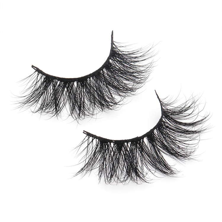 Wholesale 3D Mink Lash Strips With Custom Packaging Cruelty Free Mink Lashes Wholesale Mink Eyelashes E11 Yaopoly