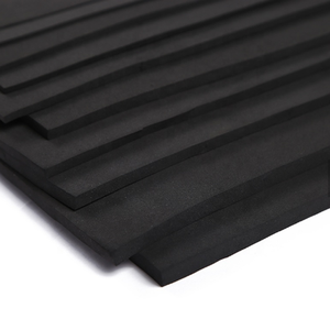 Environmental protection high elastic rubber pad Open cell neoprene fabric porous rubber sheet