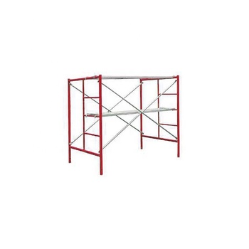 Q235 Steel Ladder Frame Scaffolding  HDG portable  H frame scaffold