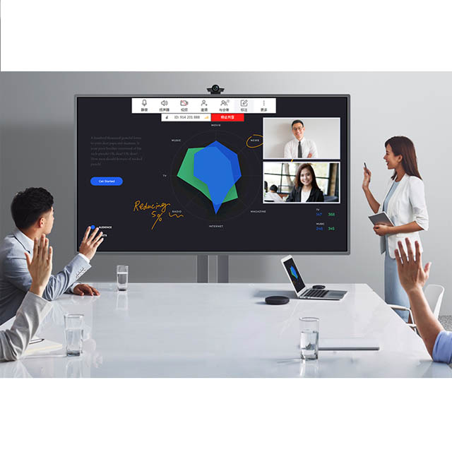 65 inch multi-<strong>touch</strong> ten points <strong>touch</strong> <strong>screen</strong> monitor display interactive smart flat panel for education and meeting