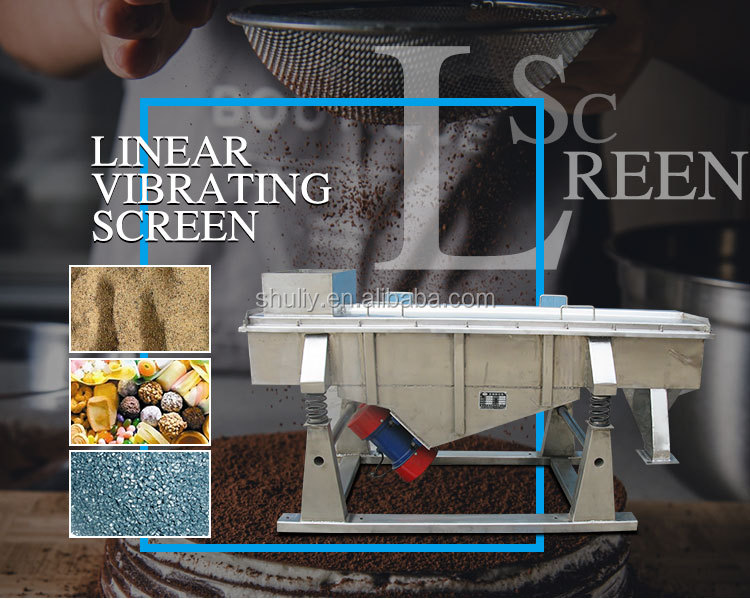vibrating sieve extruder vibrating screen linear powder vibrating screen
