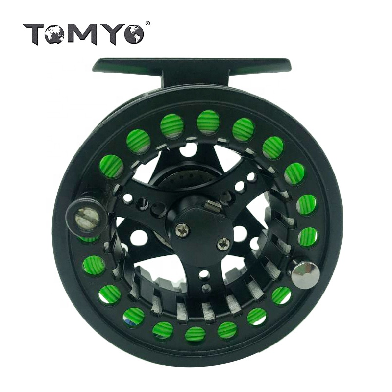 ToMyo Fly Reel with Line Combo Large Arbor Aluminum Fly <strong>Fishing</strong>+Reels Automatic