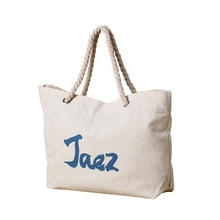 2019 Wholesale New Design Large Space Custom Logo Promotional Recyclable Eco Cotton Canvas Tote Beach Shopping <strong>Bags</strong> For Student