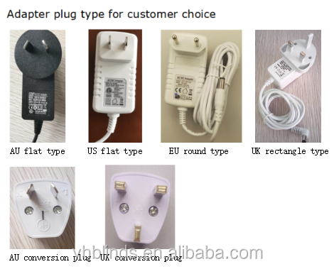 Adapter with plug