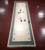Factory custom deluxe wooden game two-Sided 2 in 1 wooden table curling shuffleboard mesa game