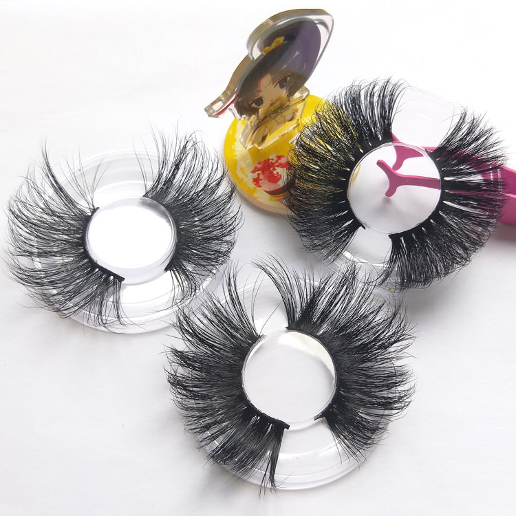 Extra big and dramatic 25mm 30mm lashes so gorgeous 3d 5d 30 mm mink eyelashes 3D mink lashes vendor