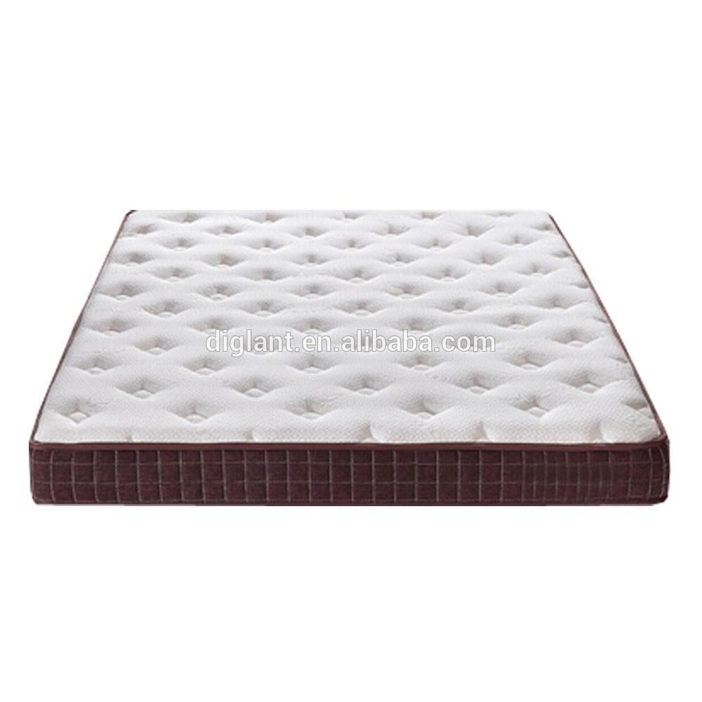 JE-A614 Diglant furniture Memory Foam Latest Double Single Bed Fabric King Size school dormitory mattress - Jozy Mattress | Jozy.net