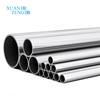 China GD Fabrication Extruded 6061 T6 Pipe Rectangular Square Hollow Oval Sizes Price Extrusion Aluminum Tube