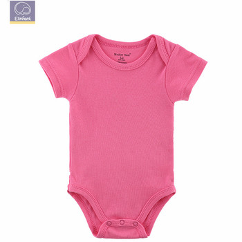New Products Most Popular Plain Organic Natural Fiber Baby Romper