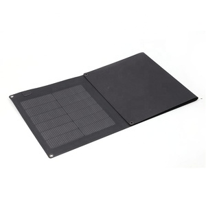 High efficiency portable folding thin film sun power 165w solar panel with cheap price