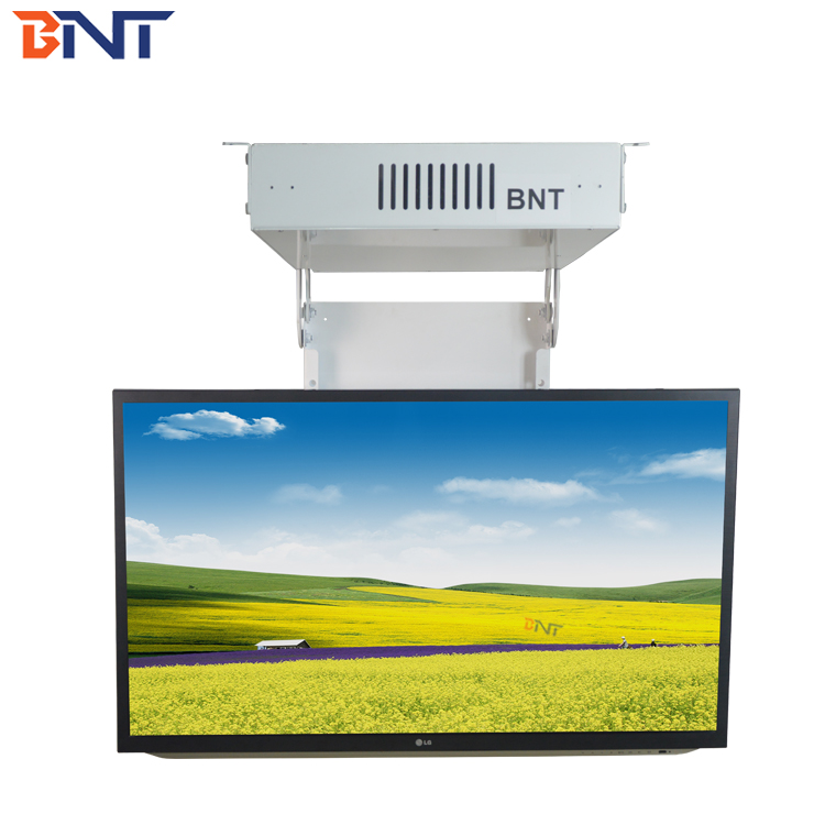 BNT Eversion flat tv motorized ceiling flip device motorized flip down ceiling tv mount