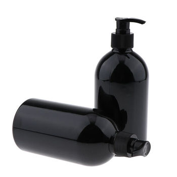 New Latest 500ml Cosmetic Shampoo Packing Plastic Pet Bottle