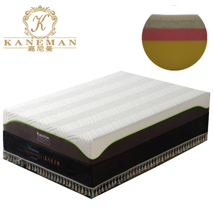 OEM ODM latex foam visco memory foam mattress roll up in box - Jozy Mattress | Jozy.net