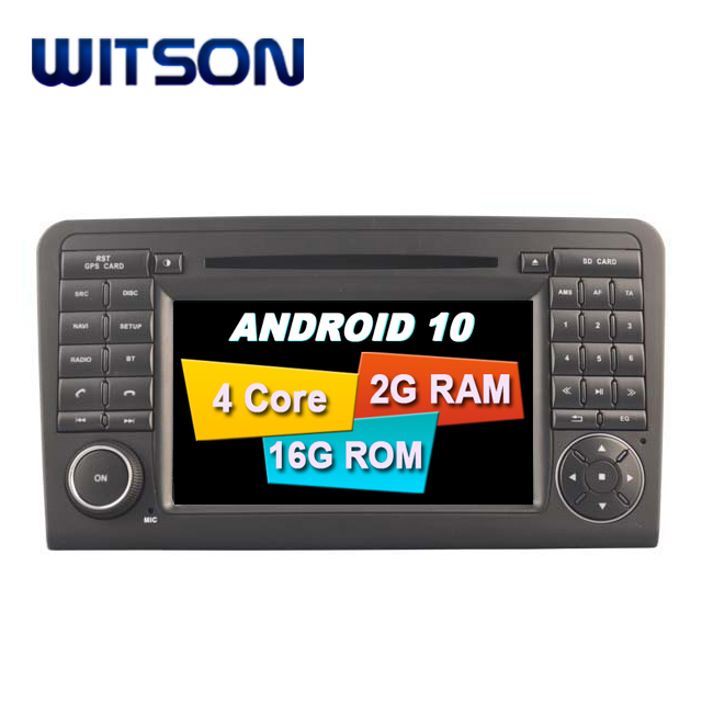 WITSON Quad-Core Android 10.0 touch screen car dvd gps FOR <strong>MERCEDES</strong>-BENZ ML320 ML 350 <strong>W164</strong> 2005-2012 GLX164 2005- 2012 GL320
