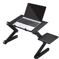 Leadingplus 360 Adjustable Computer PC Desk Table Portable for Home Office Laptops Macbook Stand Laptop Holder With Mouse Pad