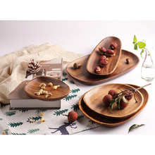 High Quality Eco-Friendly Natural <strong>Flat</strong> Pack Nordic Fruit Tray For Restaurant