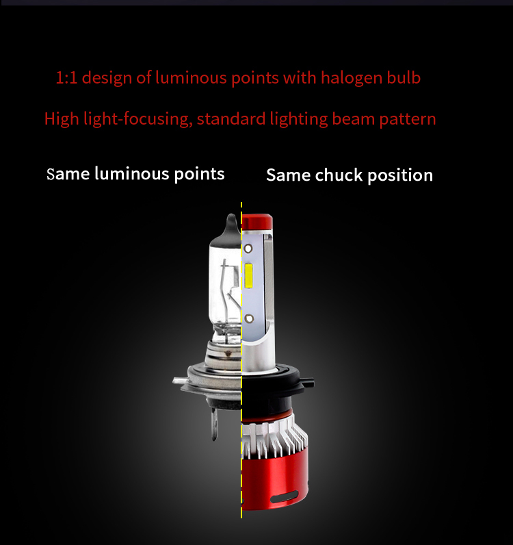 High Power 12000LM Led Headlight Bulb H11 H8 H9 H10 H16 Led Bulb For Cars
