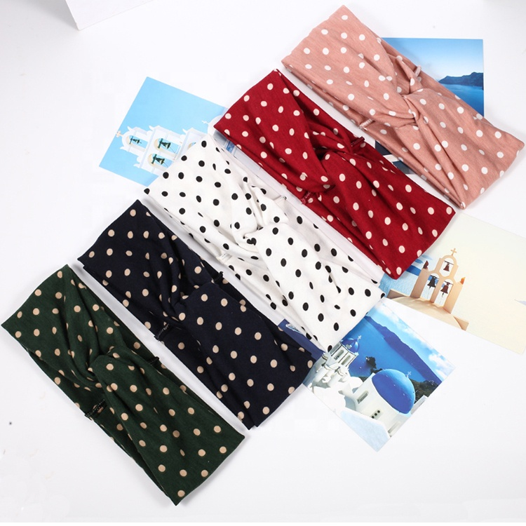 YIWU Factory Hot Selling Women <strong>Headbands</strong> With Button