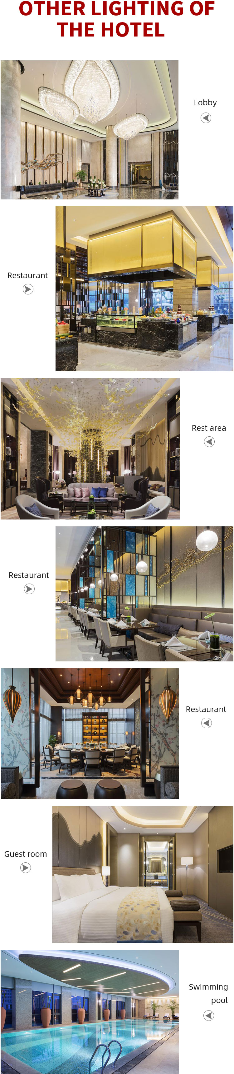 CHANGZHOU WANDA Hotel projects chandelier luxury crystal chandelier hallway crystal chandelier for crafts
