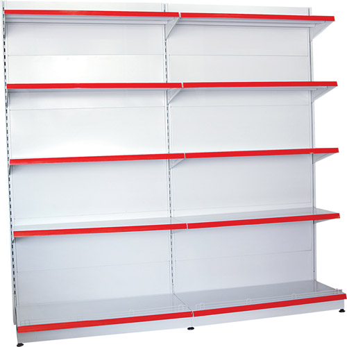 Supermarket 4 Shelves 4 side Floor Pallet Display, Cardboard Pallet Display For <strong>Retail</strong>