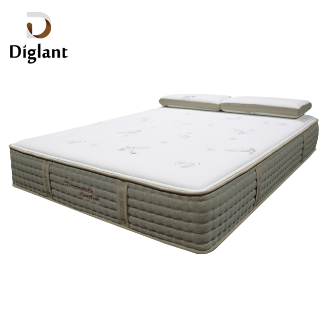 DM35 Diglant Latest Double Single Bed Fabric Foldable King Size Gel Memory Natural Latex queen mattress - Jozy Mattress | Jozy.net