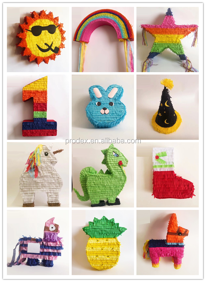 Customized  pinata for kids Birthday party Decoration