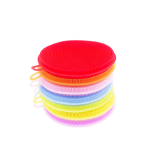 Kitchen Washing Tool Durable Heat-resistant silicone washing <strong>brush</strong> Silicone Scrubber Dish <strong>Brush</strong> clean <strong>brush</strong>