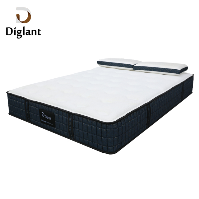 DM37 Diglant Latest Double King Size Fabric Foldable Gel Single Bed Memory Latex Natural queen mattress - Jozy Mattress | Jozy.net