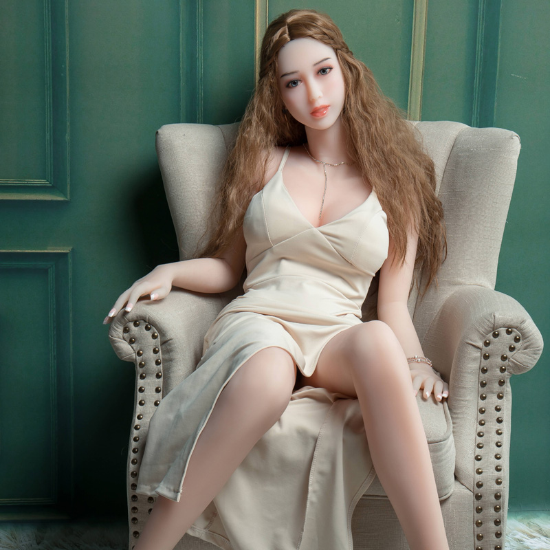 158cm Full Silicone Real Love Doll and Full SiliconeRreal Sex Adult Doll Vagina