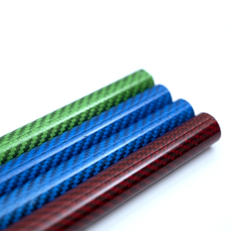 colourful <strong>carbon</strong> fiber tube