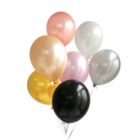 Happy Birthday Decoration Helium Latex Metallic Rose Gold Balloons for Party