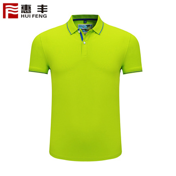 JH8518D1 Best Selling Fashionable Dri Fit Unisex Polo T-Shirts 100% Cotton