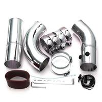 Custom made aluminum high performance cold racing air intakes