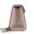 Handmade fashion PVC solid color ladies shoulder bags Metal Handle